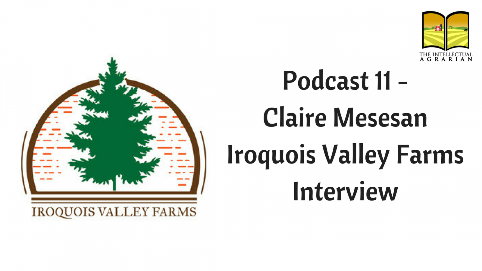 Podcast 11: Claire Mesesan – Iroquois Valley Farms   Interview