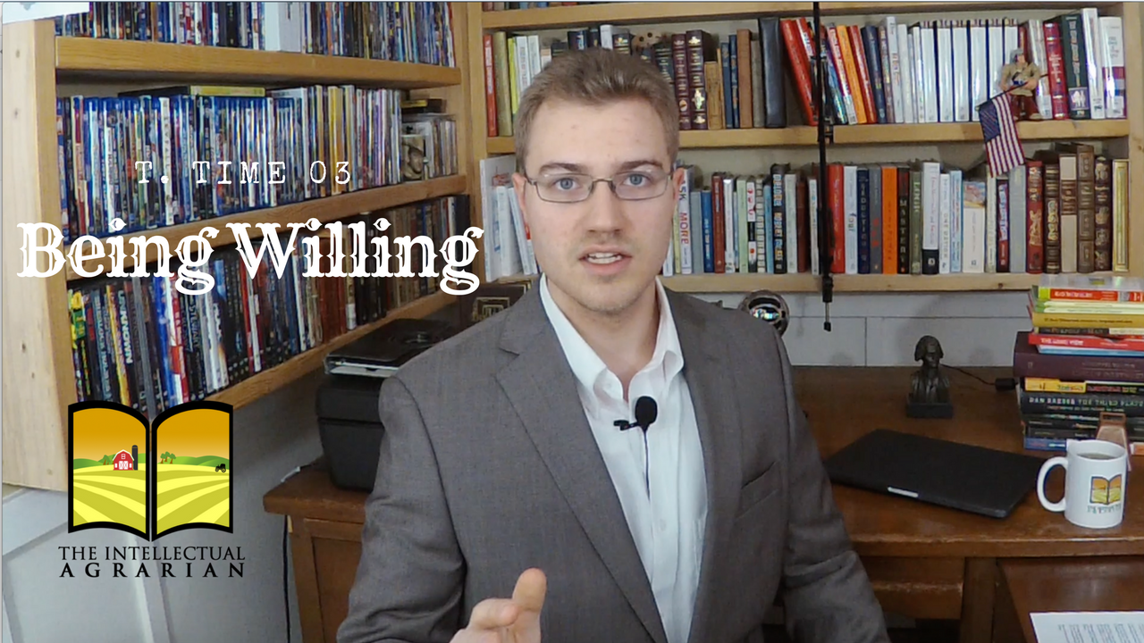 T. Time 03 – Being Willing